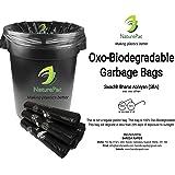NaturePac Biodegradable Garbage Bags, 48x56cm (180 Bags)