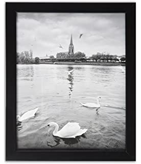 Amazoncom Icona Bay 8x10 Picture Frame 1 Pack Black Wood Finish