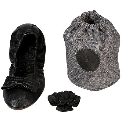 Atriolis Pack Balade - ballerines pliables avec accessoires - femmes - 41 Noir