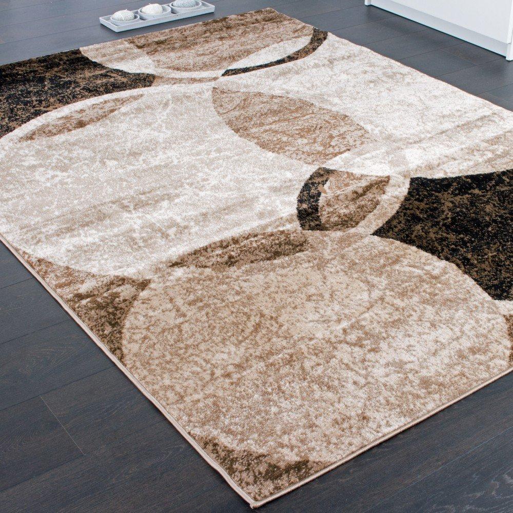 Paco Home Designer Teppich Teppich Teppich Wohnzimmer Teppich Kreis Muster in Braun Beige Preishammer, Grösse 240x340 cm B00S8JP03C Teppiche ce7ce8