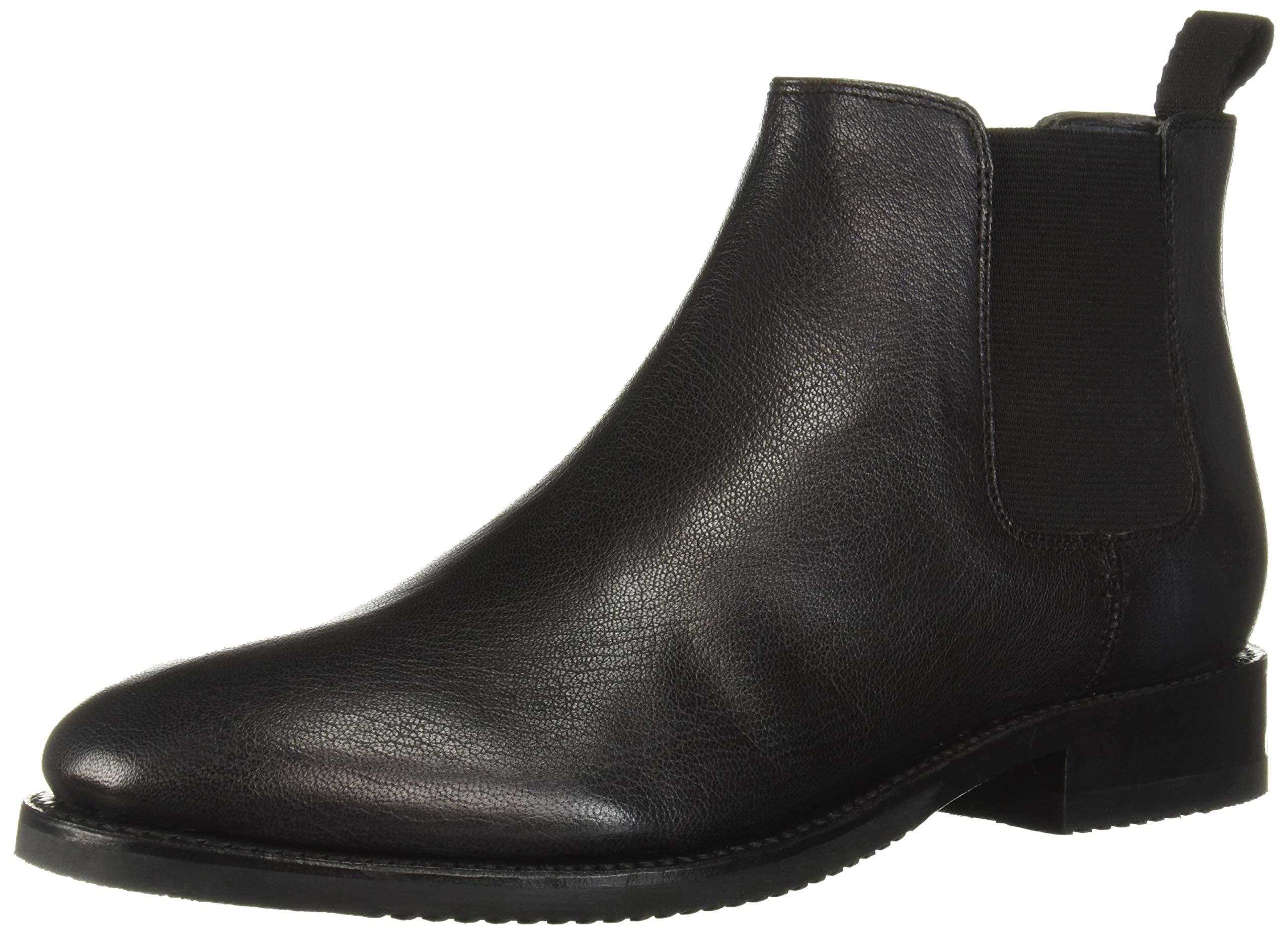 FRYE Men's Corey Chelsea Boot, Black, 11 M Medium US