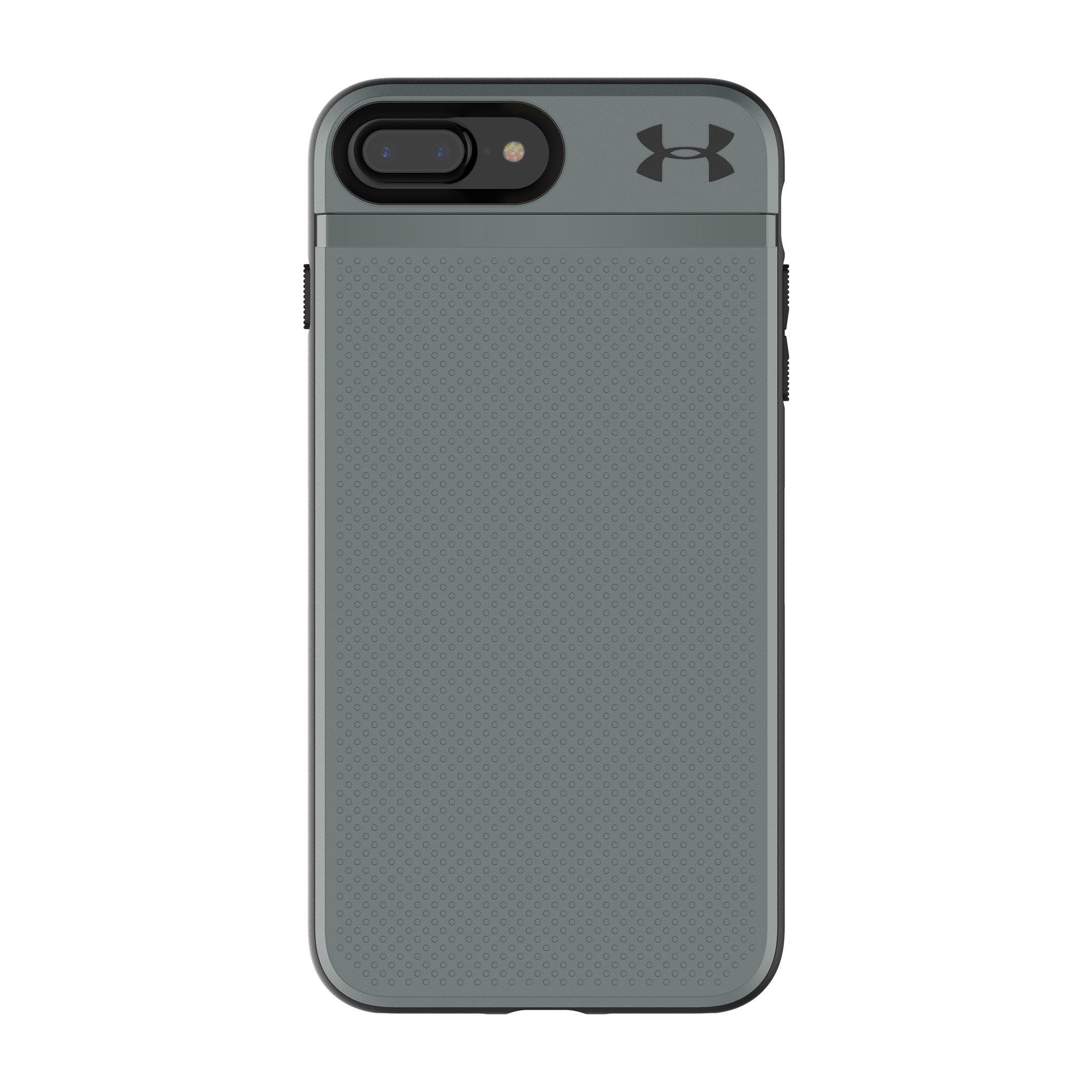 Under Armour UA Protect Stash Case for iPhone 8 Plus & iPhone 7 Plus - Graphite/Black