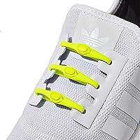 Hickies Cordones Elásticos No-Tie 2.0 Performance (14 Unidades, Funciona con todas las zapatillas)