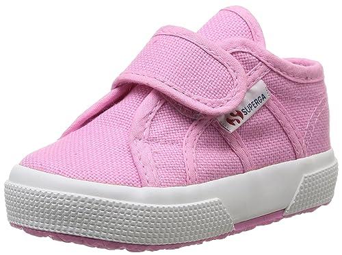 Superga 2750 Bevel, Zapatillas Unisex Para Niños, Rosa (V28 Begonia Pink), 22