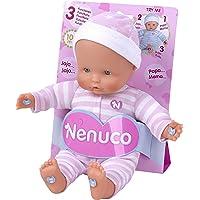 Nenuco Baby 3 Funciones Mameluco, color Rosa