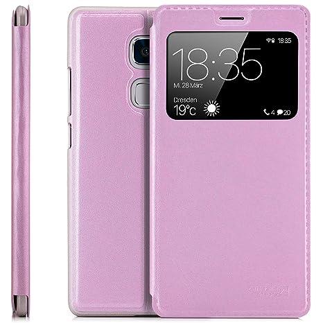 Amazon.com: Huawei Mate S (crr-l09) Funda Protector Tapa ...