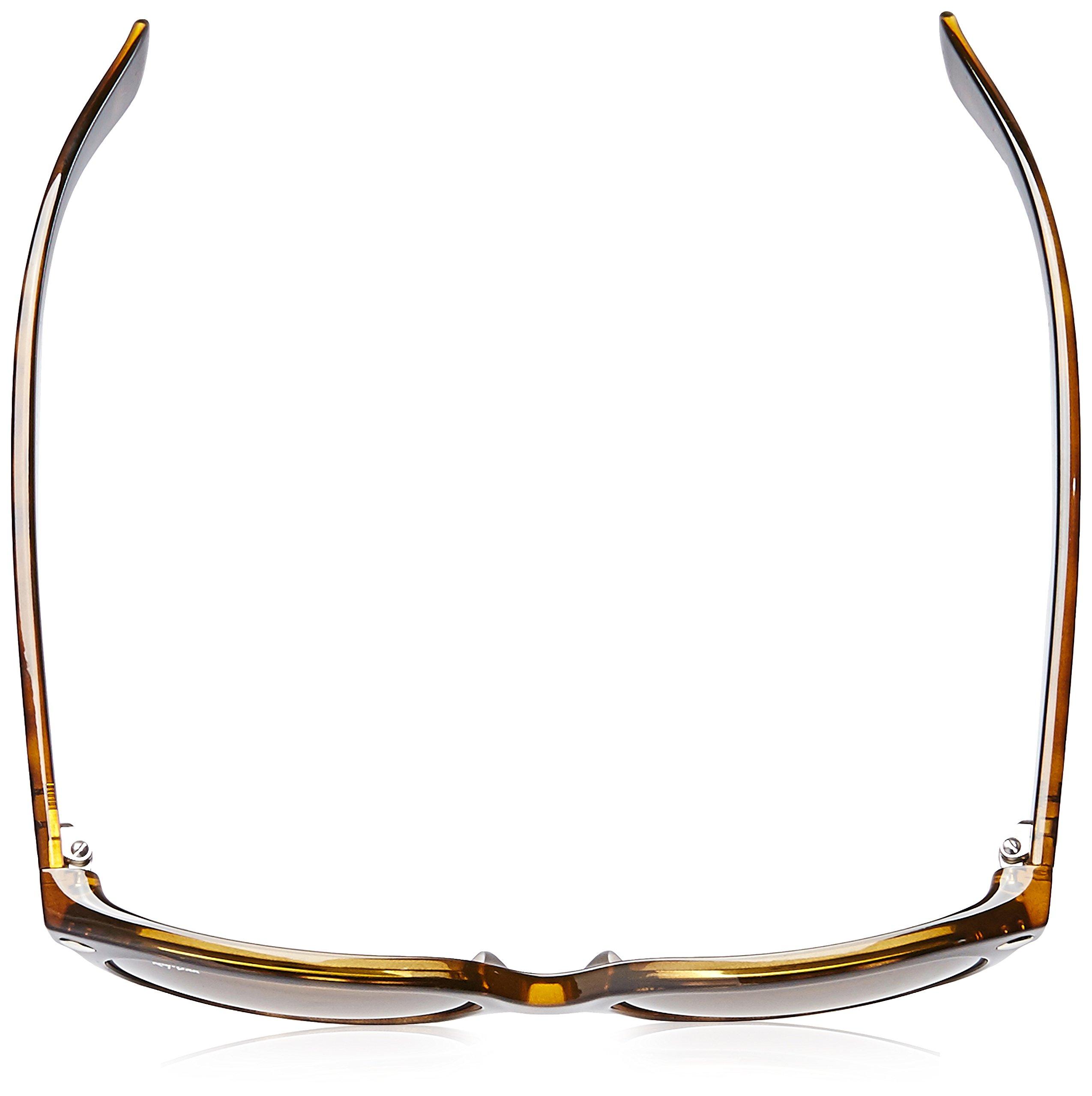 Ray-Ban, RB2132, New Wayfarer Sunglasses, Unisex Ray-Ban Sunglasses, 100% UV Protection, Polarized Wayfarer, Reduce Eye Strain, Lightweight Plastic Frame, Glass Lenses, 58 mm Frame by Ray-Ban (Image #4)