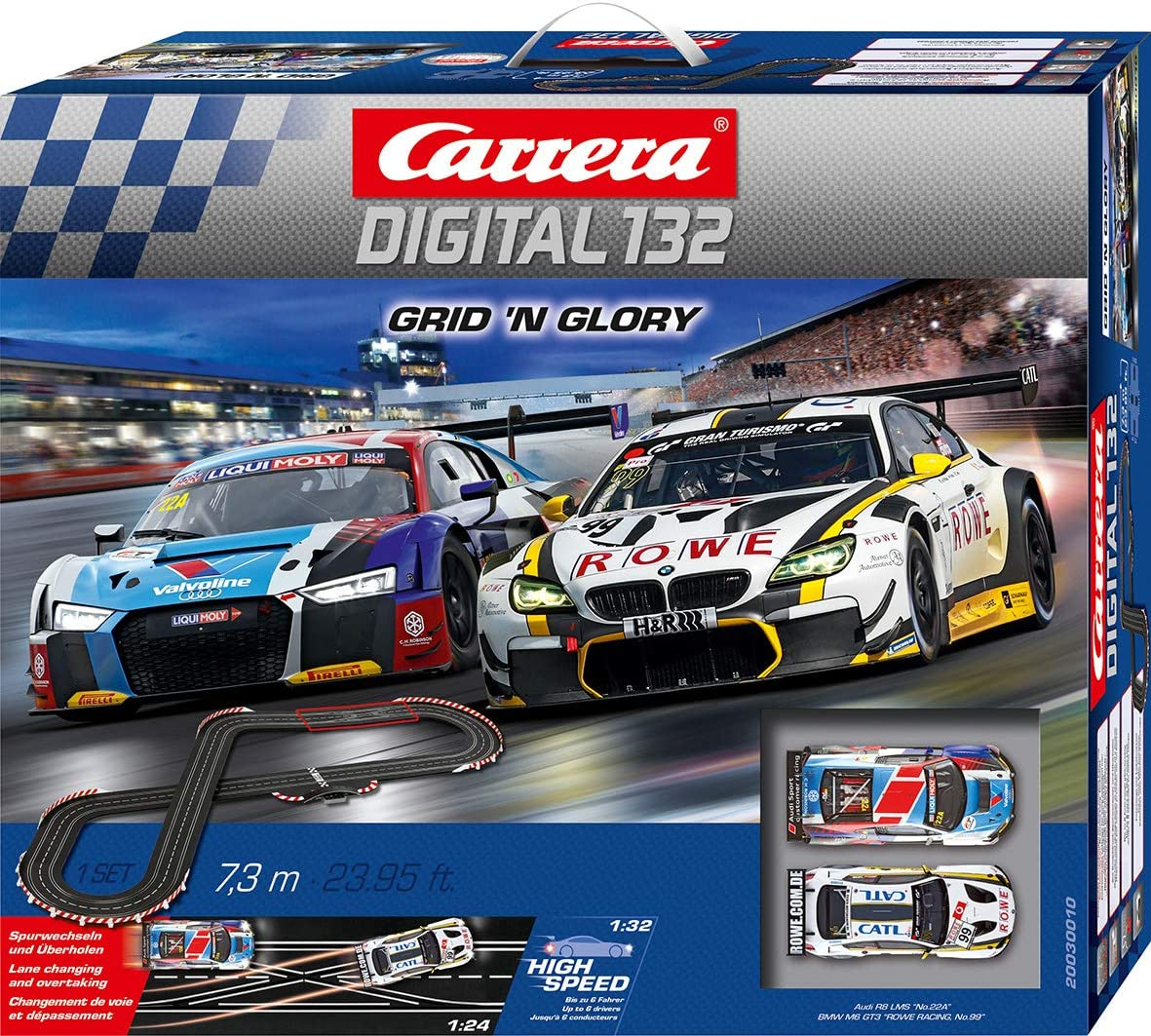 Carrera Digital 132 Grid N Glory 20030010 Racing Track Set Spielzeug