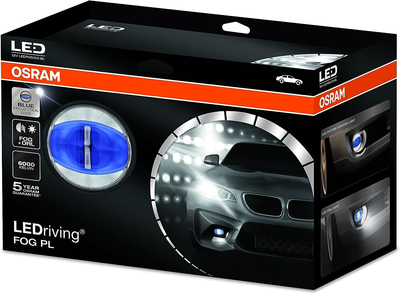 Osram Ledriving Fog Pl Blau Nebelscheinwerfer Ledfog103 Bl 1er Faltschachtel Auto