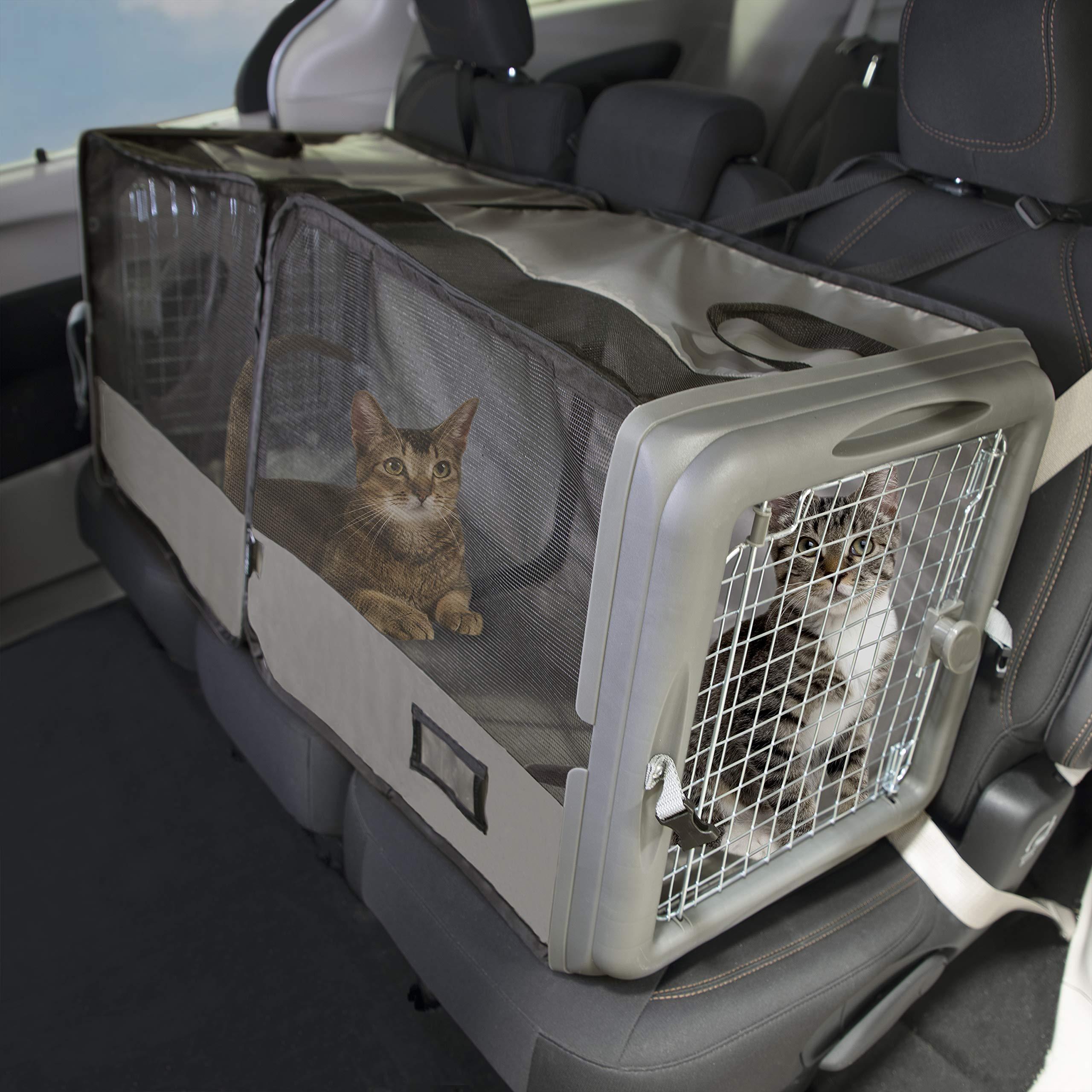 SportPet Car Seat Pet Crate, Car Kennel, Pet Tube Kennel, Pop Open Crate by SportPet Designs