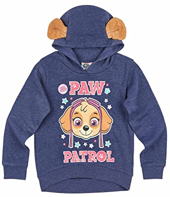 88d4666929 Paw Patrol Paw Patrol Mädchen Sweatshirt mit Kapuze - marine blau ...
