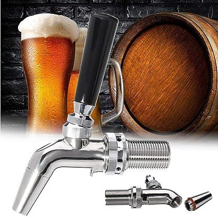 Janolia Dispensador de Bebidas de Acero Inoxidable, diseño de Sellado hacia Delante, Grifo de