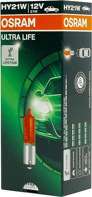 Osram 64137 ULT Original HY21W Headlight 12V Folding box