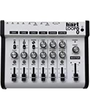 Maker Hart LOOP MIXER - Portable Audio Mixer with 5 Channels, 5 x 1