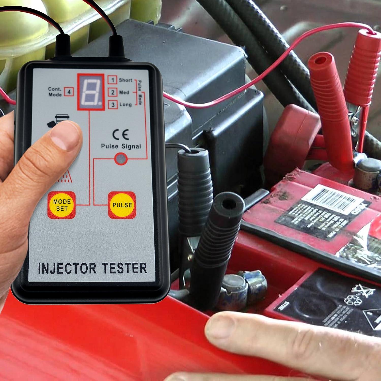 Herramienta de diagnóstico del probador del inyector de combustible automotriz 4 modos del pulso 12V exploran la herramienta: Amazon.es: Bricolaje y ...