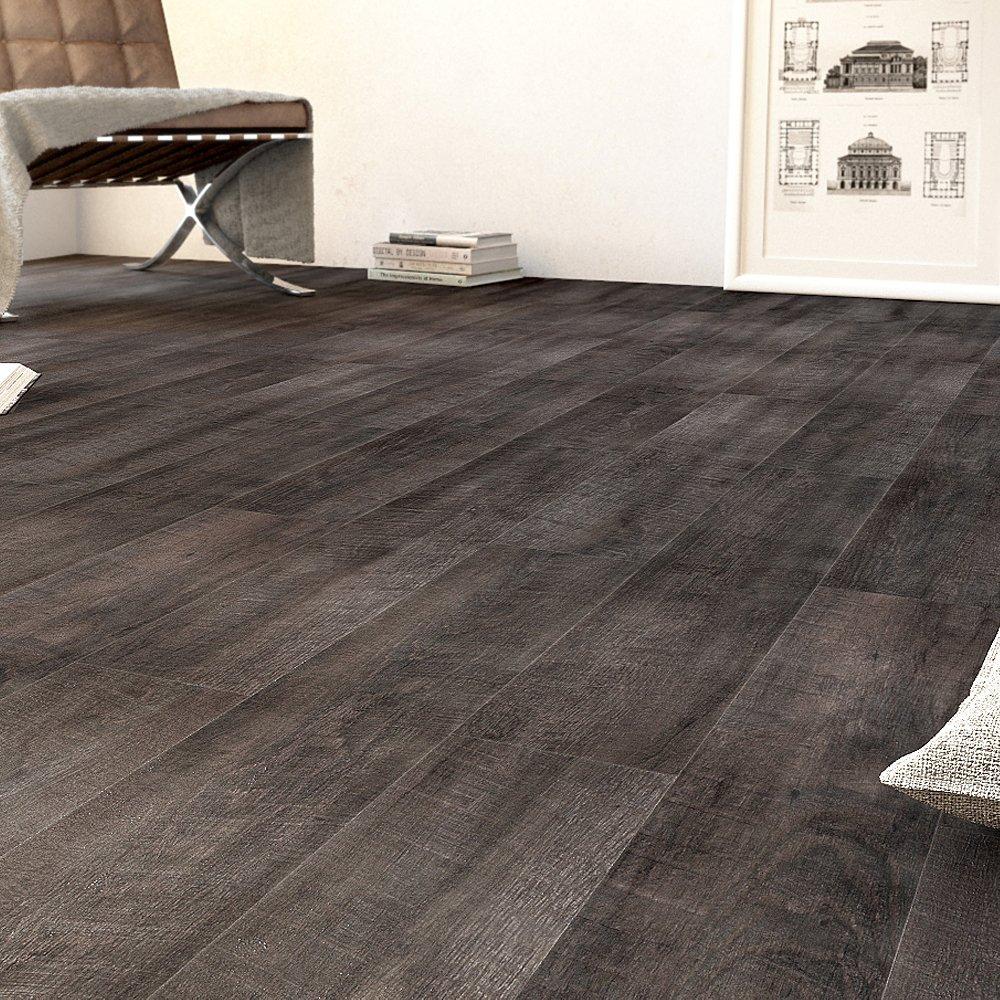 kleber fr vinyl planken smoked oak dark grey tarkett starfloor click pvc planken zum klicken. Black Bedroom Furniture Sets. Home Design Ideas