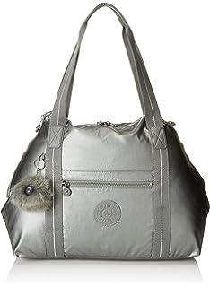 Kipling Art M Bolsa de Viaje, 45 cm, Silver Beige: Amazon.es ...