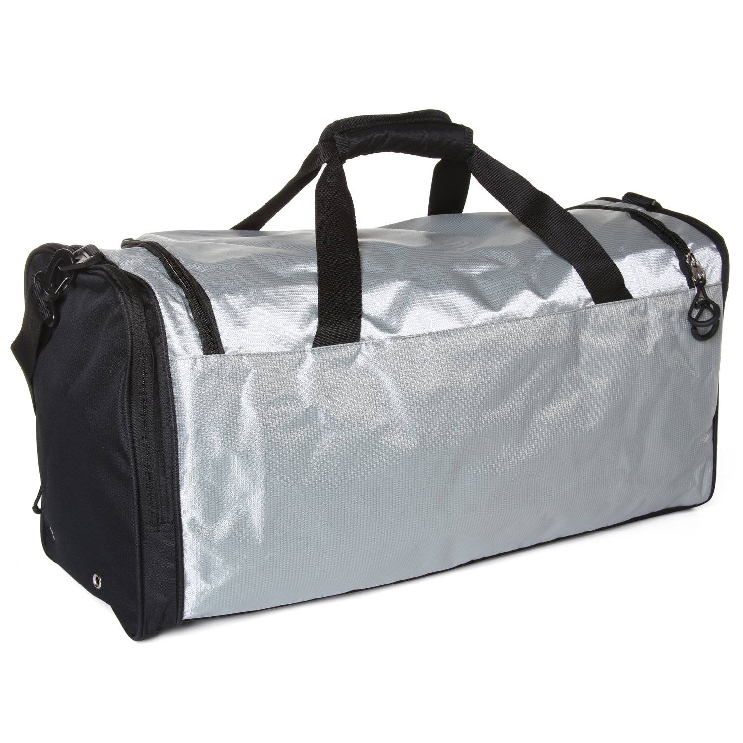 929d393088e7 Ivation Sports Gym Duffel Bag - 100% Water-Repellent Polyester - Ideal for  Gym, Fitness, Camping, Track, Traveling & More