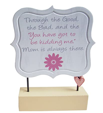 Amazon com: Sentimental Mom Poems Decorative Plaques On