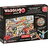 "Wasgij ""Imagine 2 If The Wheel Hadn't Been Invented"" Jigsaw Puzzle (1000-Piece, Multi-Colour)"