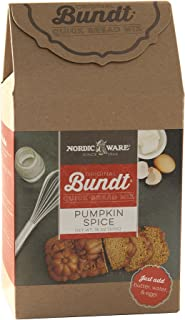 product image for Nordic Ware Gourmet Bundt Pumpkin Spice Quickbread Mix, Brown