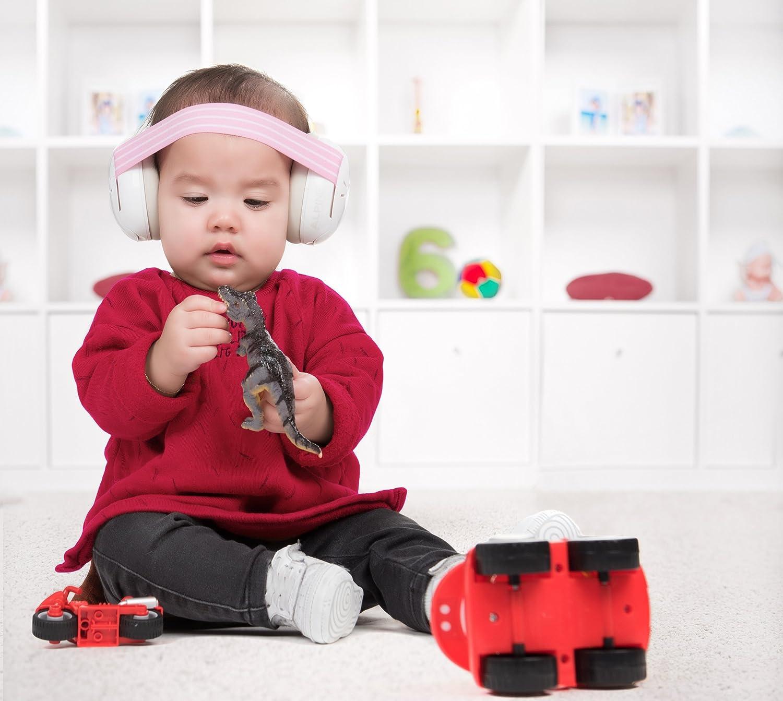 Alpine Muffy color rosa Orejeras de protecci/ón para el o/ído del beb/é