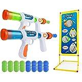 USA Toyz Astroshot Gemini Shooting Games Set - 2pk Soft Foam Ball Popper Toy Foam Blaster Guns for Kids, 2-Player Toy…