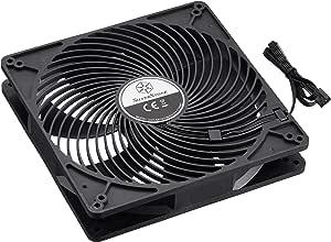 SilverStone SST-AP183 - Ventilador de 180mm para ordenador Air Penetrator, Alto flujo de aire: Amazon.es: Informática