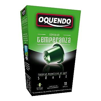 80 Cafés Oquendo Nespresso Compatible Coffee Capsules – (TEMPERANZA) Premium Quality Nespresso coffee -