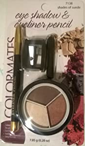 Colormates Eye Shadow and Eyeliner - Shades of Suede