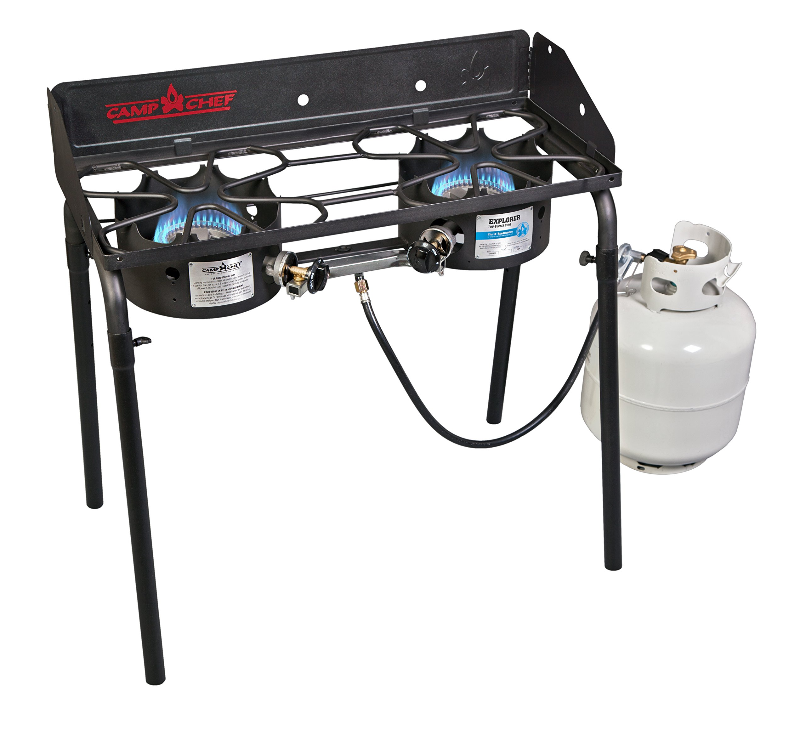 Camp Chef Explorer Double Burner Stove by Camp Chef