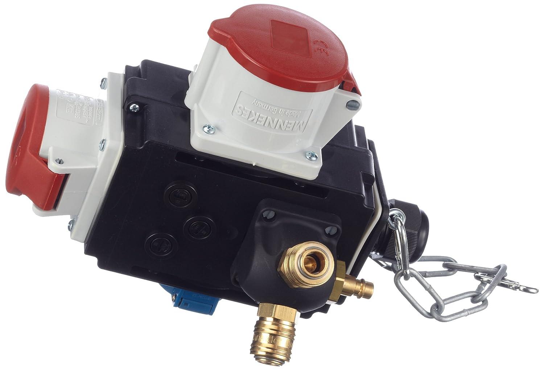 Schwabe 60734 Energiew/ürfel II+ Baustelle as IP44 Gewerbe mit Druckluftanschluss