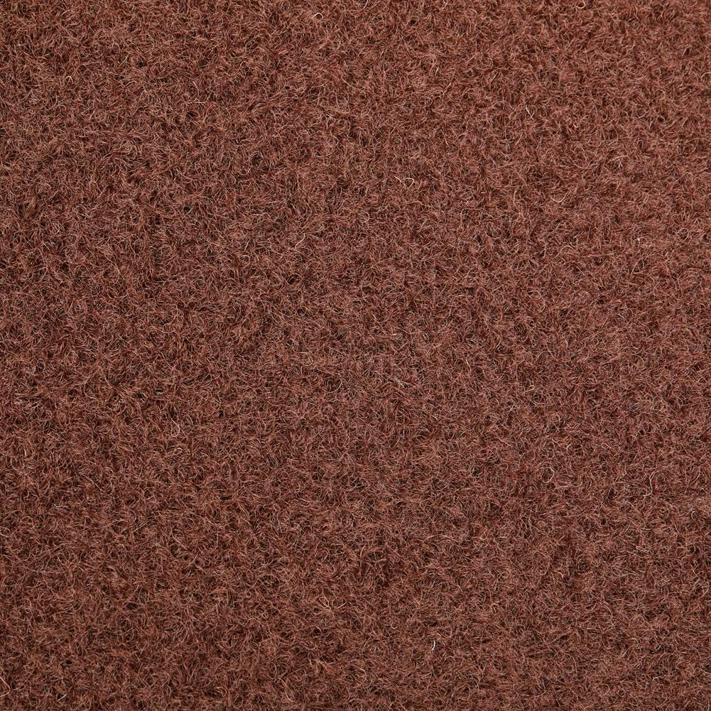 Hallway Kitchen Entryway Bedroom Area Rugs with Natural Non-Slip Rubber Backing Commercial Grade Available for Custom Sizes Chocolate Brown AYOHA Runner Rug 2 x 6 Indoor//Outdoor Carpet Runners