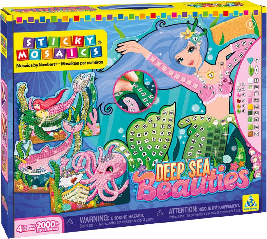 The Orb Factory Sticky Mosaics Deep Sea Beauties