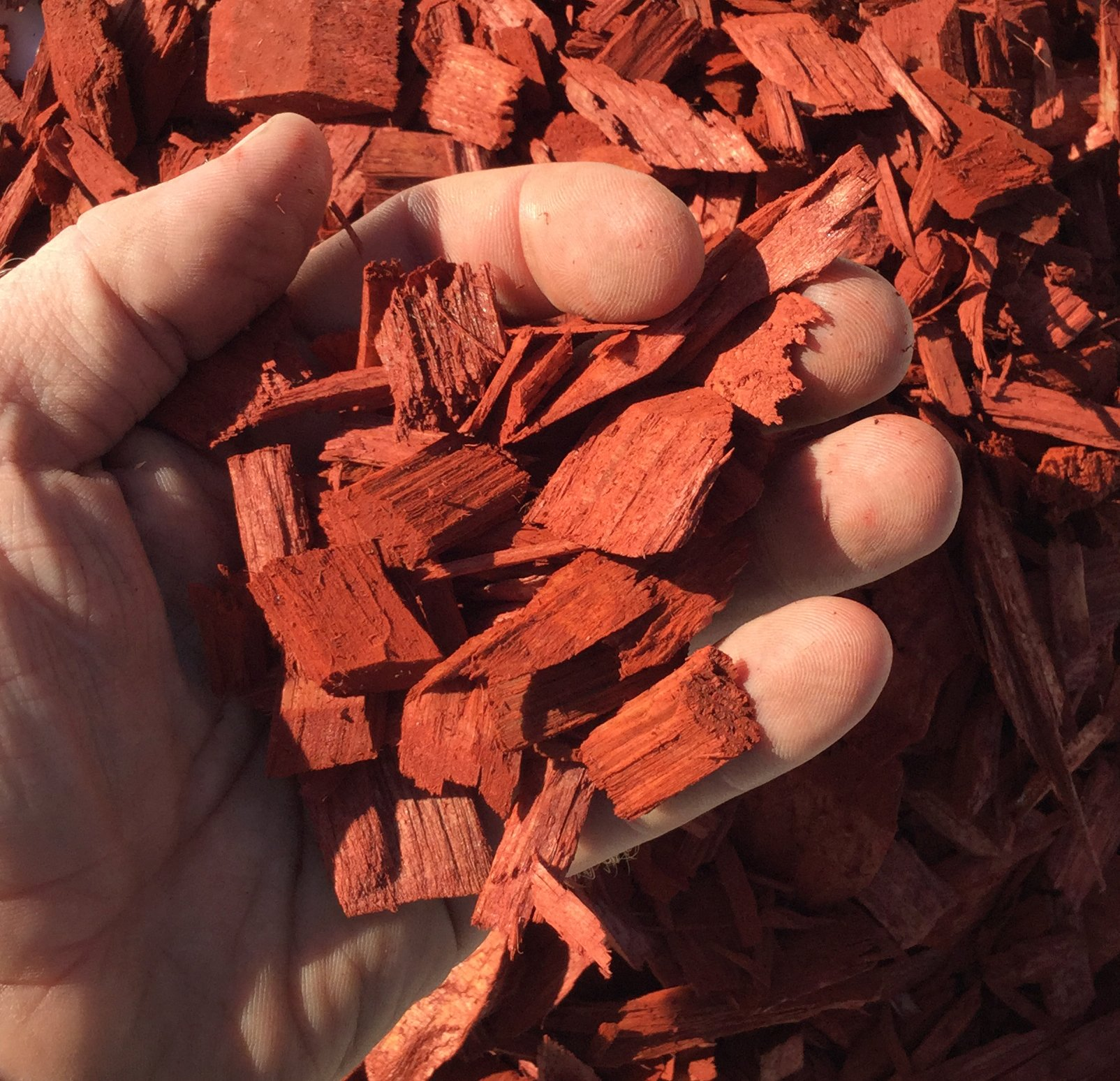 Mighty 109 Raging Red Mulch 210 gallons shipped in 4 barrels