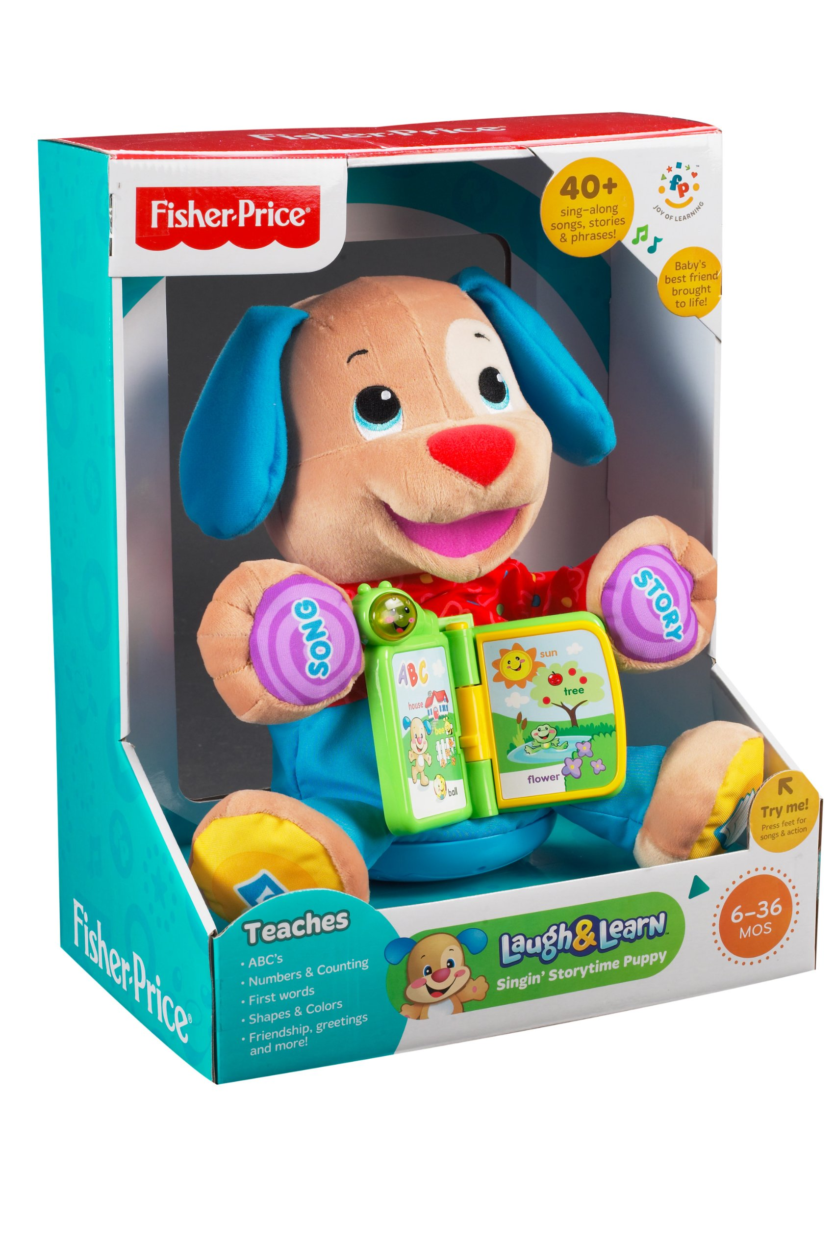 Fisher-Price Laugh & Learn Singin' Storytime Puppy by Fisher-Price (Image #8)