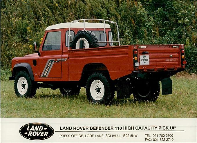 Amazon com: Vintage photo of Land Rover Defender 110 high