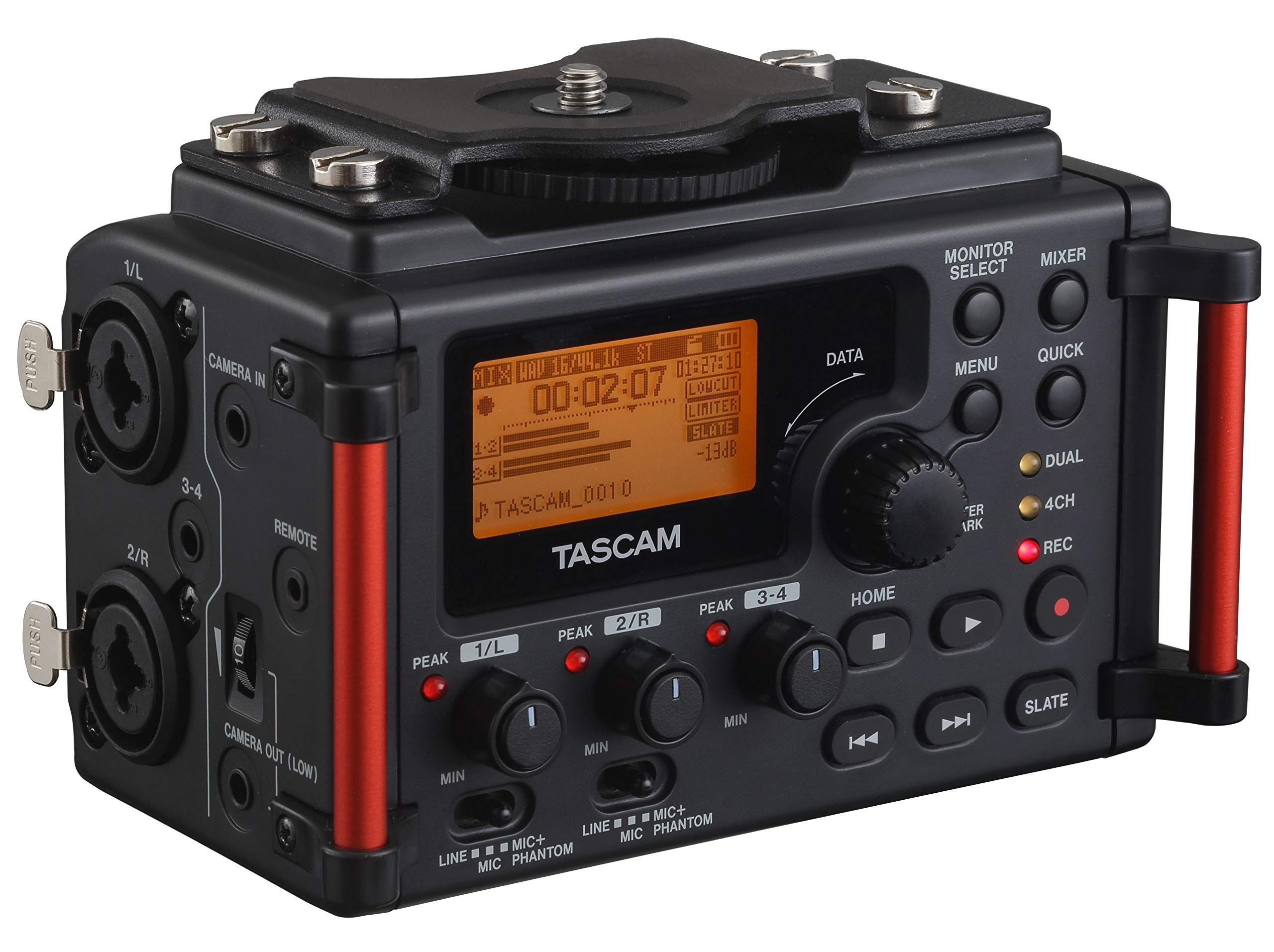 Tascam DR-60DMKII 4-Channel Portable Audio Recorder for DSLR (Renewed) by Tascam (Image #1)