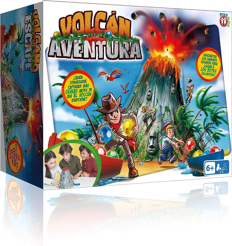 IMC Toys 96738IMIT Play Fun, Volcán Aventura, idioma Español ...