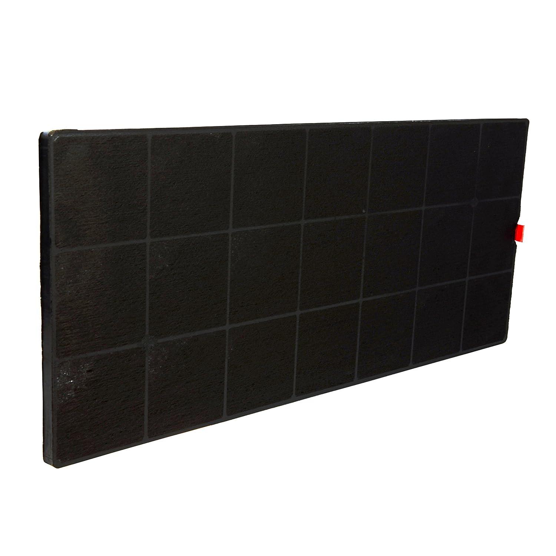✧WESSPER® Campana extractora filtro para Amica OTB 525I (, carbón)