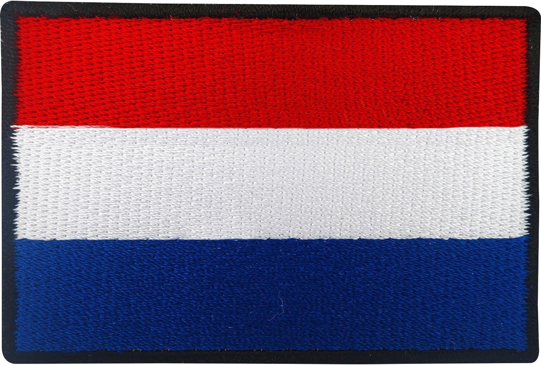 Aufnäher Mit Niederländischer Flagge Zum Aufbügeln Oder Aufnähen Küche Haushalt