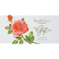 Russell Stover Assorted Chocolates, 18 Ounce Gift Box, RUSSELL Stover Assorted Chocolates Box; An Assortment of Nutty, Chewy, Creamy, Milk Chocolate Covered Candies and Dark Chocolate Covered Candies
