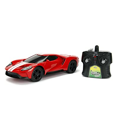 Jada Toys Hyperchargers 1:16 Big Time Muscle R/C '17 Ford GT Vehicle: Toys & Games