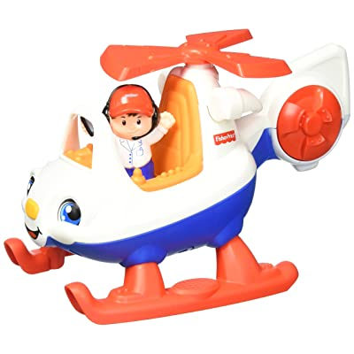 Fisher-Price Little People Helicopter: Toys & Games