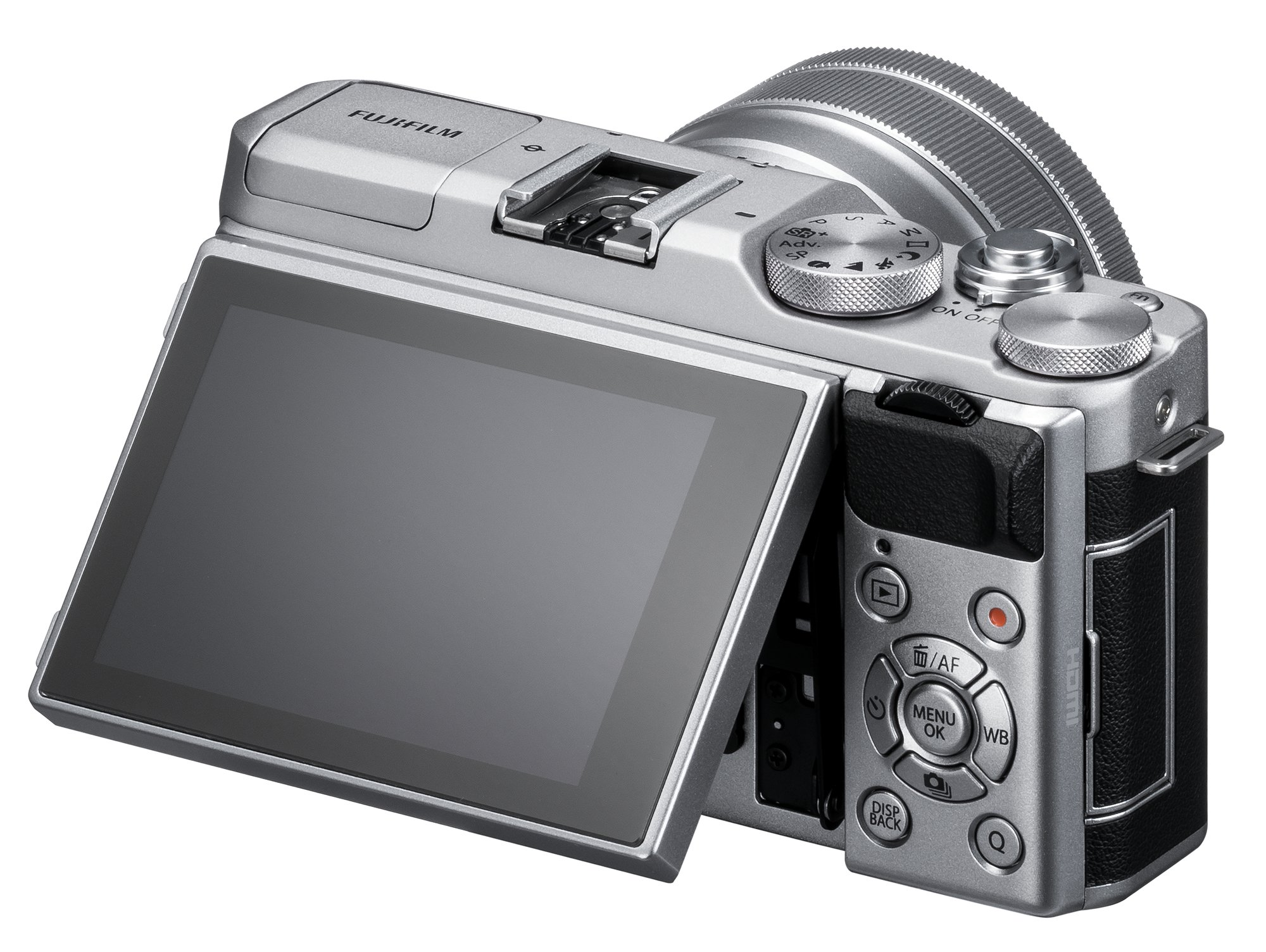 Fujifilm X-A5 Mirrorless Digital Camera w/XC15-45mmF3.5-5.6 OIS PZ Lens - Silver by Fujifilm (Image #4)
