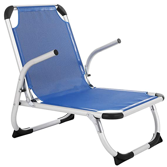 Superb Songmics Beach Chair Portable Gcb62Bu Foldable Reclinable Caraccident5 Cool Chair Designs And Ideas Caraccident5Info
