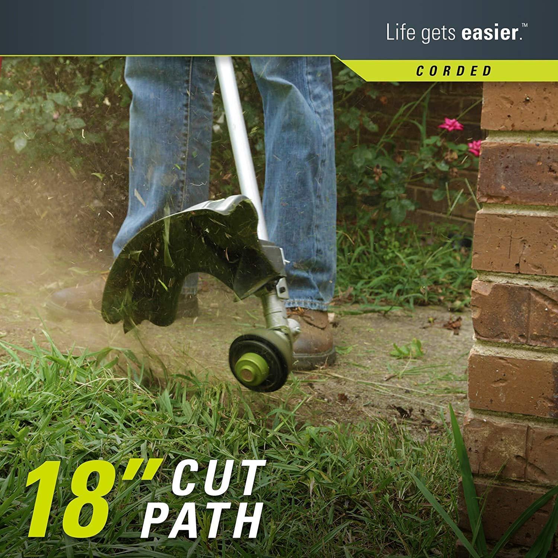 Amazon.com: Greenworks 21142 - Cuerda eléctrica recta de 18 ...