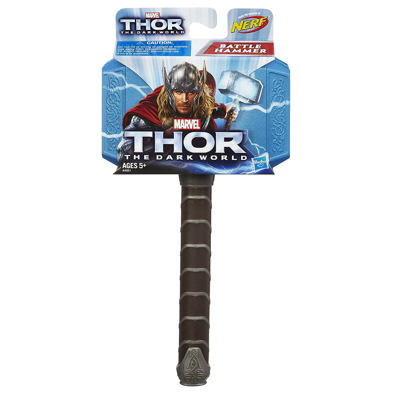 amazon com thor marvel the dark world battle hammer toys games
