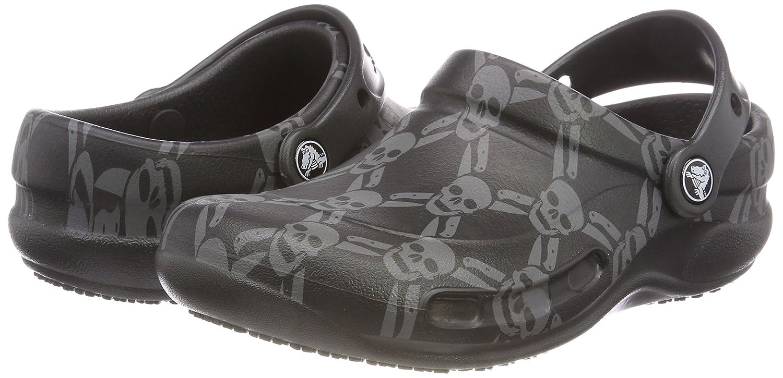 53ed7814a030b7 Crocs Unisex Adults  Bistro Graphic Clog Clogs