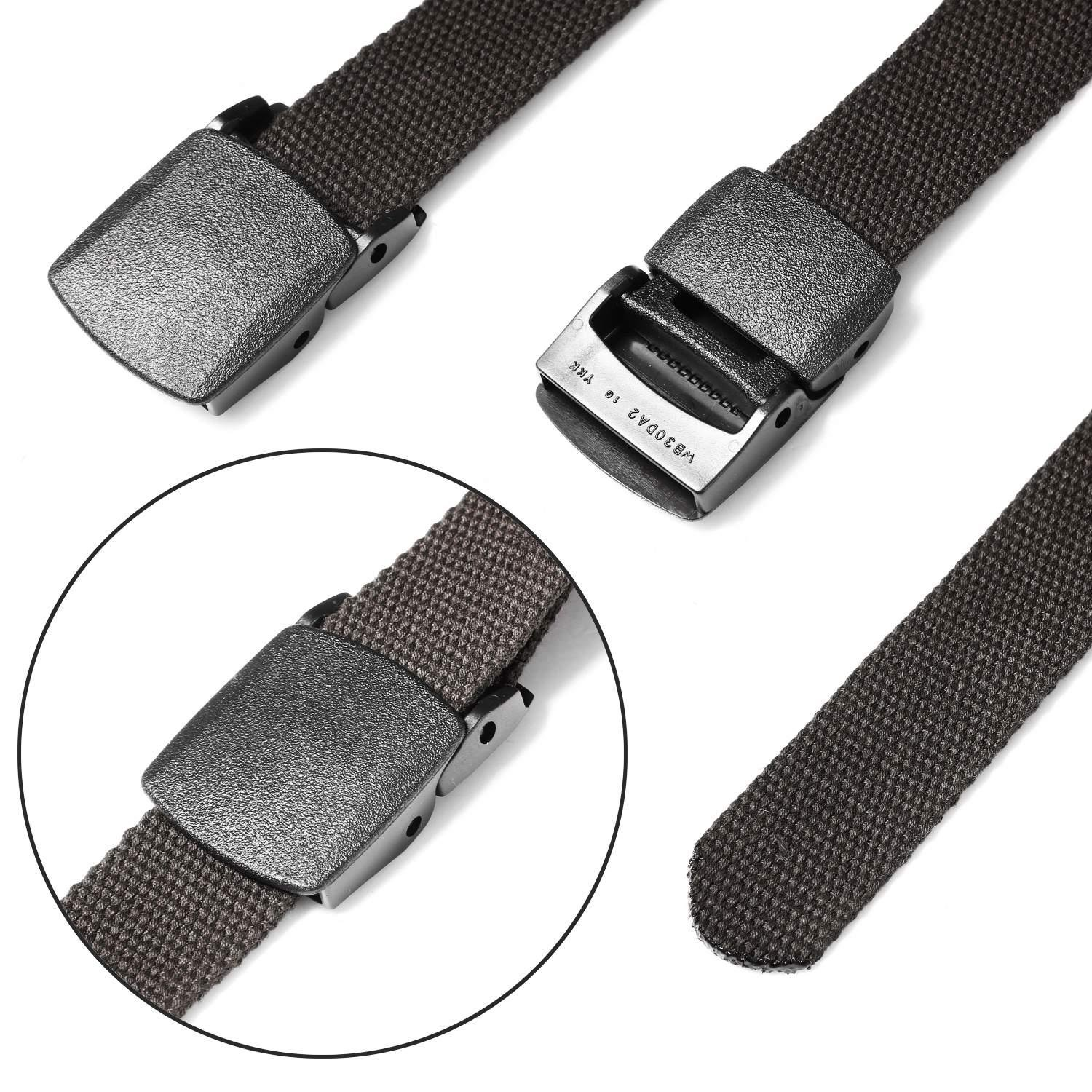 Goodfans Tactical Adjustable Survival Solid Nylon Outdoor Waist Belt Belts